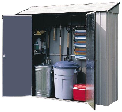 Arrow Shed Rack - Arrow Sheds CL72 7-Feet by 2-Feet Steel Storage Locker
