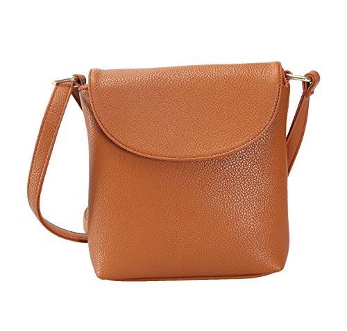 Shoulder Brown Bag - 7