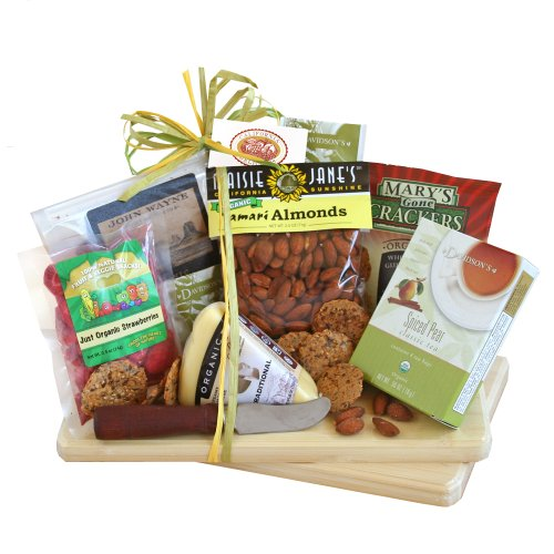 California Delicious Gift Basket, Organic Party Tray