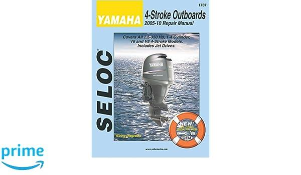 Amazon com: Sierra 18-01707 Yamaha 4-Stroke Outboard Repair Manual