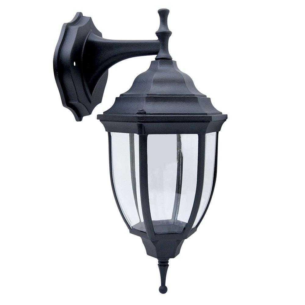 Farol Suspendido Exterior, 60 W, color negro