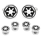 6 Piece Star Wars Imperial Empire Symbol Tuxedo Stud / Cufflinks Set