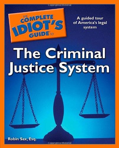 criminal justice handbook series