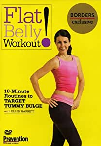 Amazon.com: Flat Belly Workout: 10-Minute Routines to