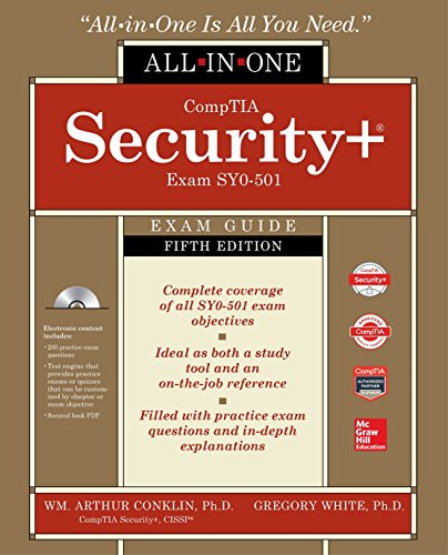CompTIA Security+ All-in-One Exam Guide, Fifth Edition (Exam SY0-501) (Best Cissp Study Guide)