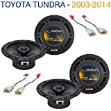 Fits Toyota Tundra 2003-2014 Factory Speaker Replacement Harmony (2) R65 Package New