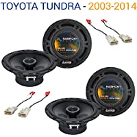 Toyota Tundra 2003-2014 Factory Speaker Replacement Harmony (2) R65 Package New
