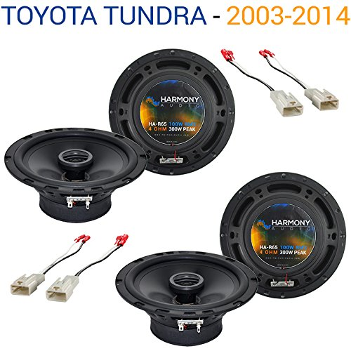 - Fits Toyota Tundra 2003-2014 Factory Speaker Replacement Harmony (2) R65 Package New