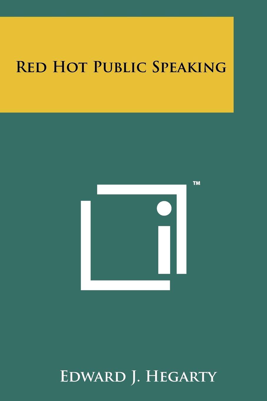Download Red Hot Public Speaking pdf