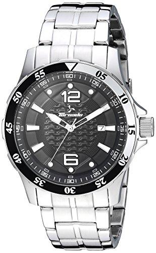 Tornado watch Men's 'Tornado' Quartz Stainless Steel Dress Watch, Color:Silver-Toned (Model: T7014-SBSB)