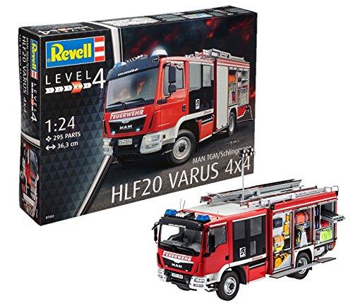 Revell of Germany Schlingmann HLF 20 MAN TGM Euro 6 Model Kit
