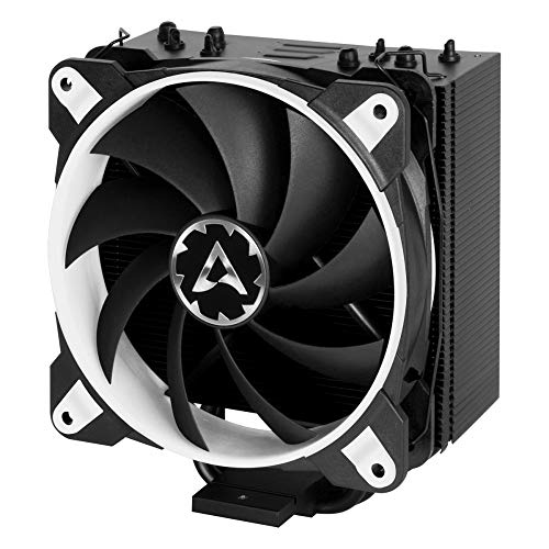 ARCTIC Freezer 33 Esports ONE - Tower CPU Cooler with 120 mm PWM Processor Fan for Intel and AMD Sockets - for CPUs up to 200 Watts TDP - Silent and Efficient (White)