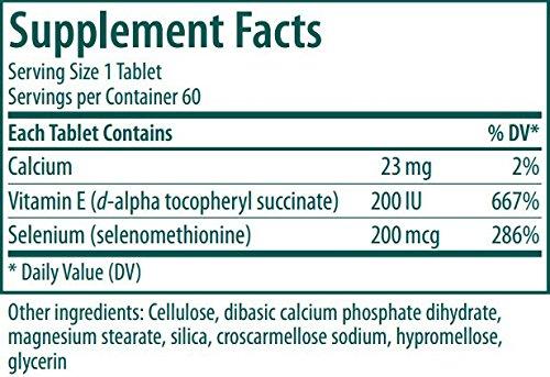 Genestra Brands - Selenium + E - Helps Prevent Cellular Free Radical Damage* - 60 Tablets by Genestra Brands (Image #4)