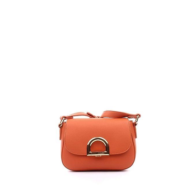 Borsa Donna Liu Jo Nuova Collezione P E 18 mod a tracolla col. arancio   Amazon.it  Abbigliamento e4cb959af41