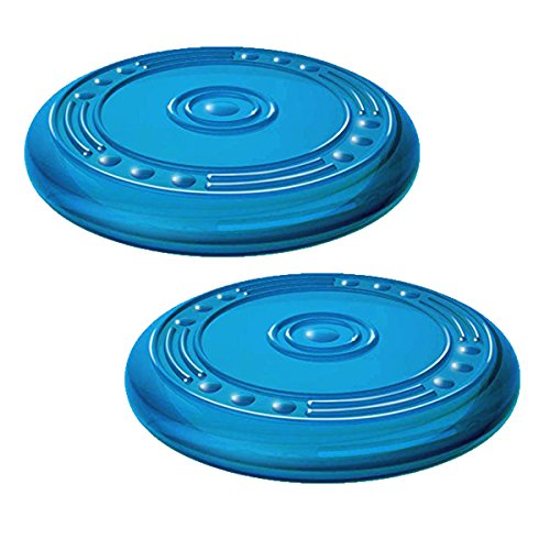 Petstages Orka Flyer Rubber Durable Frisbee Chew and Fetch Toy for Dogs, Dog Chew Toy ()