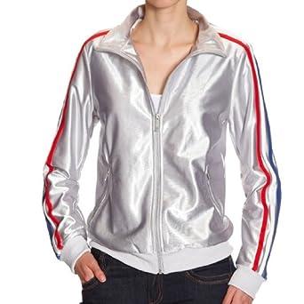 cd52251c2 adidas Originals Trefoil Wn Jacket Silver - - UK 8: Amazon.co.uk: Clothing