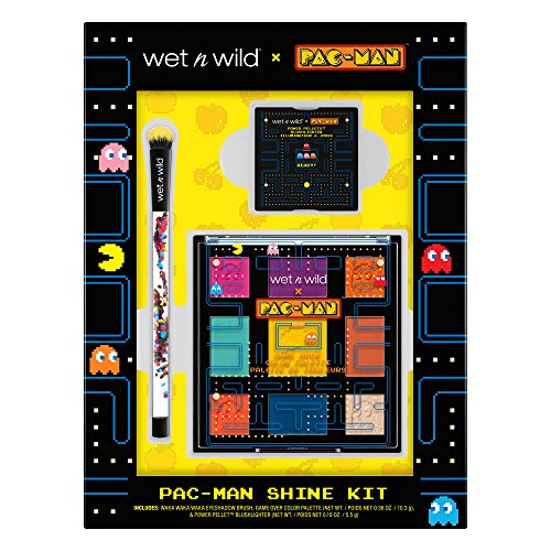wet n wild 2019 Limited Edition PAC-MAN Shine Kit (Best Blush Palette 2019)