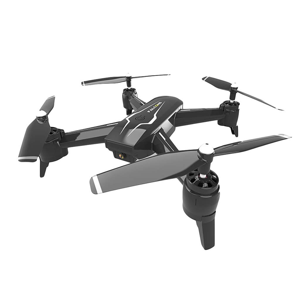 Volity Drones with Camera 1080P for Adults, Livoty S5 WiFi FPV Trajectory Flight Adjustable Gesture Control, Optical Flow Dual, 18 Mins Long Flight Time RC Quadcotper Helicopter