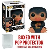 Funko Pop! Movies: Fantastic Beasts And Where to Find Them - Niffler #8 Vinyl Figure (Bundled with Pop Box Protector Case)