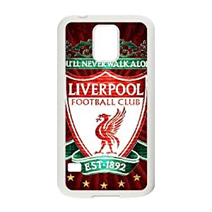 Samsung Galaxy S5 Case Covers White Liverpool Logo A7RT