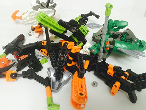 100 plus Lego Bionicle pieces spare parts random assortment of great pieces