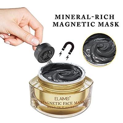 Magnetic Face Mask Mineral Magnet Mask Exfoliating Blackhead Remover Whitening Moisturizing Dead Sea Mud Mask Magnet Mask