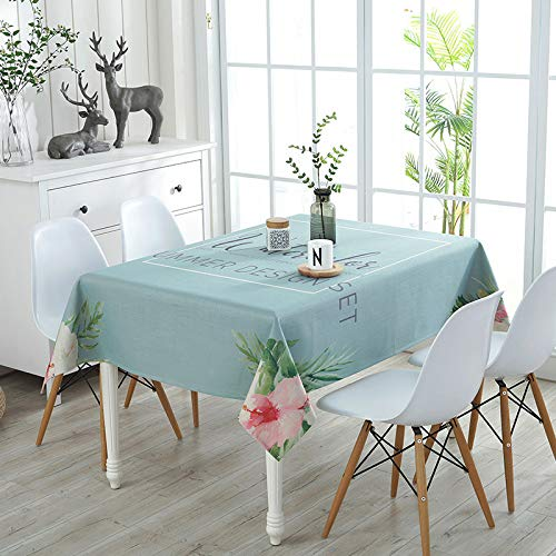Picnic Home Decoration High-Grade Printed Thick Cotton and Linen Tablecloth 100140Cm,Great for Buffet Table, Parties, Holiday Dinner ()