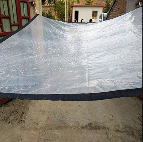 SACYSAC Transparant dekzeil balkon dekzeil waterdicht gordijn transparant outdoor waterdicht dekzeil