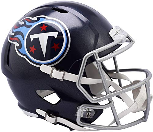 Sports Memorabilia Riddell Tennessee Titans Revolution Speed Full-Size Replica Football Helmet - NFL Replica Helmets
