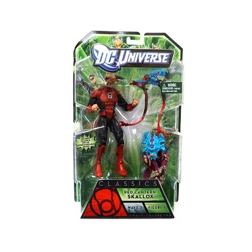 Green Lantern Classics Red Lantern Skallox and Night Lik Interchangeable Heads Collectible Figure