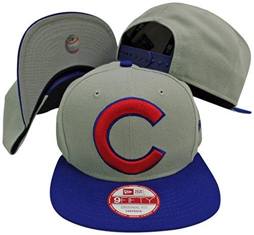 Chicago Cubs Flat Bill Hats. New Era ... 88b6315197ca