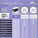 Essential Oils Storage for 104 Bottles - Holds 10 15 20 ml Young Living & Doterra bottles - Essential Oil Box - Essential Oil Case - Essential Oil Storage box - Essential oil Holder Organizer