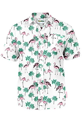 3df1d677 Men's Bright Hawaiian Shirt for Summer Aloha Shirt for Guys   Weshop ...