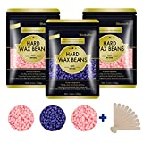 Hard Wax Beans for Painless Hair Removal, Wax Beads for Sensitive Skin, Full Body Hair Removal Waxing Beads, for Bikini Brazilian, Armpit, Back and Chest, for Hair Removal Wax Warmer