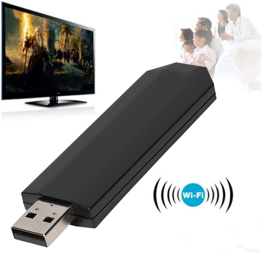 Wireless USB TV Wi-Fi Network Card 300Mbps Wireless WLAN LAN Adapter WIS09ABGN for Samsung TV for Windows 7//8//10