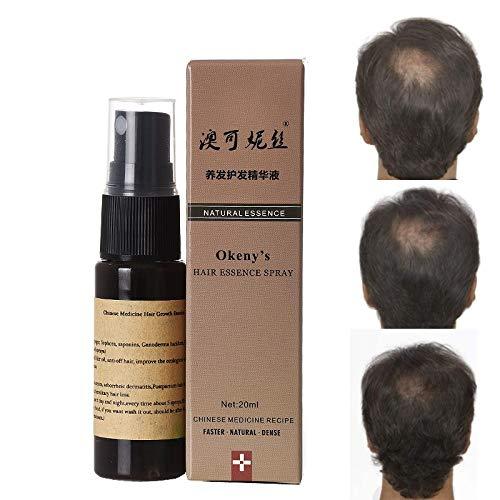 Okeny'S Organic Fast Hair Growth Essence Liquid 20M Products Yuda Pilatory Anti Gray Hair Spray Shampoo Serum Hair Loss Treatment