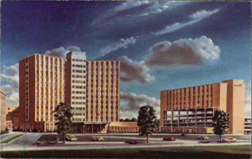 St. Francis Hospital Center, 1600 Albany Street Beech Grove, Indiana Original Vintage Postcard Beech Entertainment Center