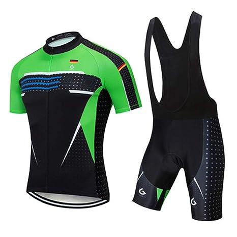 HYYSH Jersey de Ciclismo de montaña de Secado rápido, a ...