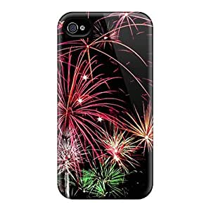 Zheng caseNew Style Tpu 4/4s Protective Case Cover/ Iphone Case - Fireworks