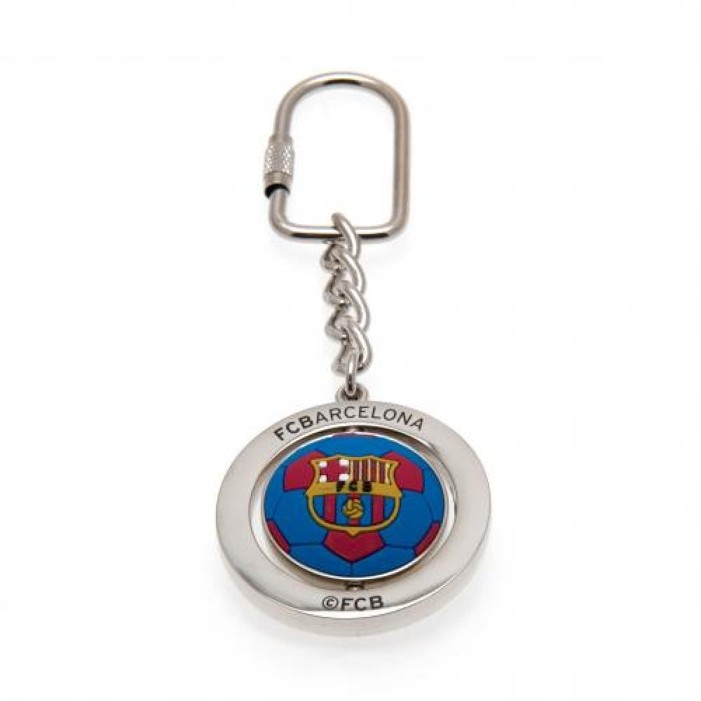 FC Barcelona Official Football Gift Spinner Keyring Birthday Gift Idea For Men And Boys A Great Christmas