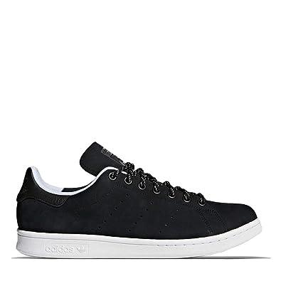 finest selection c1eb9 a620f Amazon.com | adidas Stan Smith WP Black Mens | Fashion Sneakers