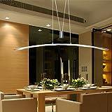 Pendant Light,FOSHAN MINGZE 27W Modern LED Ceiling Light Fixture Aluminum Finished Metal Chandelier for Kitchen/Dining Room/Office/Bar/Living Room