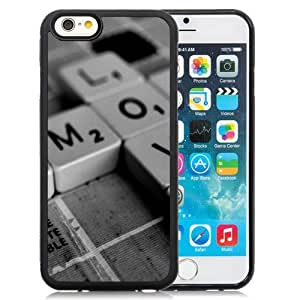 New Personalized Custom Designed For iPhone 6 4.7 Inch TPU Phone Case For Creative Keyboard Keys Phone Case Cover