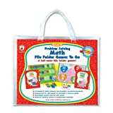 Wholesale CASE of 10 - Carson Problem-solving Math Games-Problem Solving Math Game, w/ 6 Games, Grade K