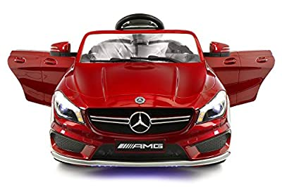 2018 Mercedes Benz CLA 12V Ride On Motorized Cars Powered Wheels W/ Remote, Dining Table, Leather Seat, LED Lights …