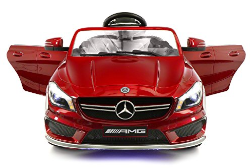 2018 Mercedes Benz CLA 12V Powered Ride On Motorized Toy Car Wheels W/ Remote, Dining Table, Leather Seat, LED Lights