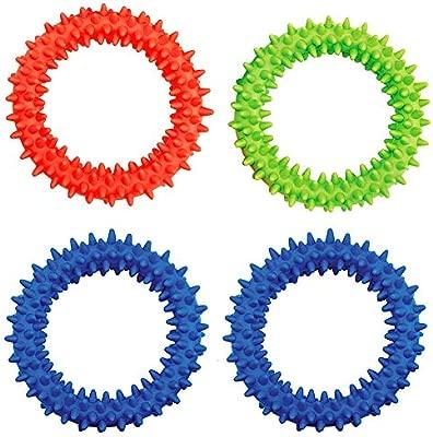 3 Pack Spiky Autism Sensory Toy Toys Ring Bracelet Fidget Acupressure Massage