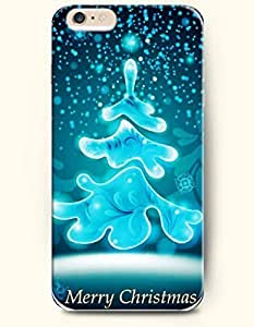 New Case Cover For LG G2 Hard Case Cover - Blue Christmas Tree - Merry Christmas