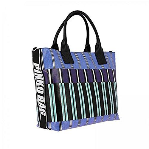 Borsa Pinko Bag Bavosa 1H20DY Y4CV Col. PE82 Blue PE18 Sast Descuento Venta Caliente De Salida Tienda De Venta UbNgy2C