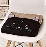 New cute plush cartoon student home seat cushion office chair seat Pad/chair Pad/ Chair Cushion/ Office Cushion/sofa Cushion/Sponge car Cushion (black cat)